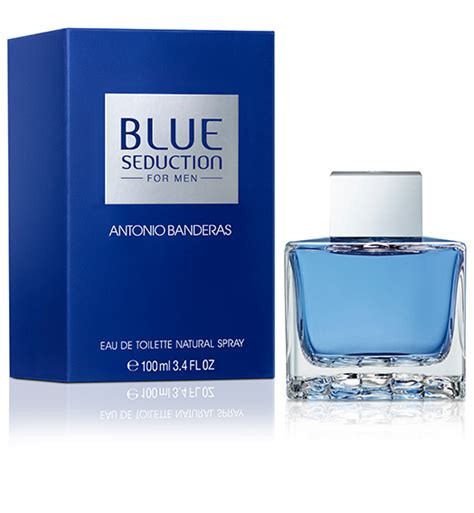 Parfum Antonio Banderas Blue blue for antonio banderas fragrances puig