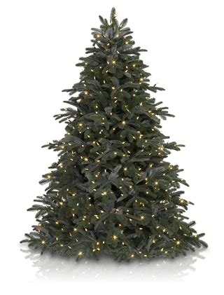 nordmann fir artificial christmas tree balsam hill uk