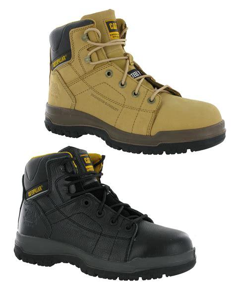 Caterpillar Alinskie Safety Boots caterpillar dimen hi safety boot black