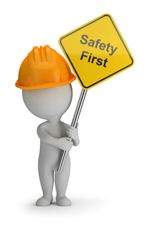 safety man clip art safety first