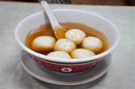 new year food tang yuan recipe tang yuan glutinous sweet rice balls kcet
