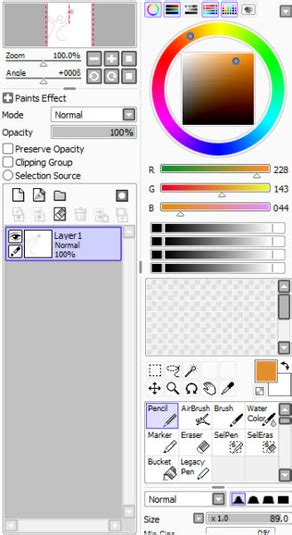 paint tool sai 1 2 0 version painttool sai descargar