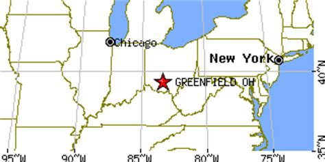 greenfield ohio map greenfield ohio oh population data races housing