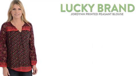 Branded Max Sl Sleeveless Blouse lucky brand jordynn printed peasant blouse 3 4 sleeve for