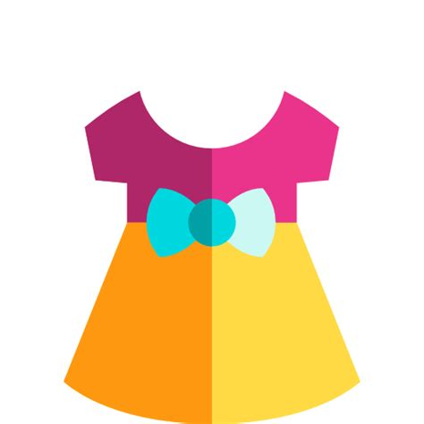 baby clothing fashion dress baby clothes icon