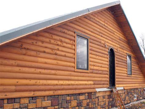 log siding installation tips discount cedar log siding home buffalo lumber