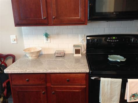 cherry cabinets with white granite best light granite for traditional cherry cabinets