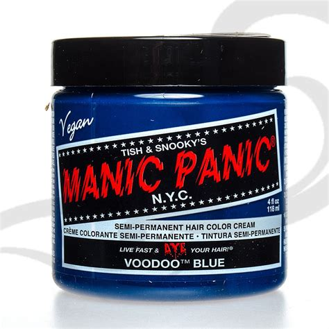 Manic Panic Nyc Semi Permanent Hair Color Bad Boy Blue Classic manic panic classic creamtone hair dye vegan semi permanent all colours ebay