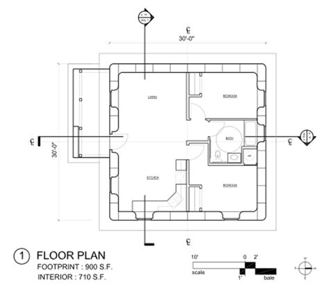 Floor Plan Open Source | open source strawbale floorplan