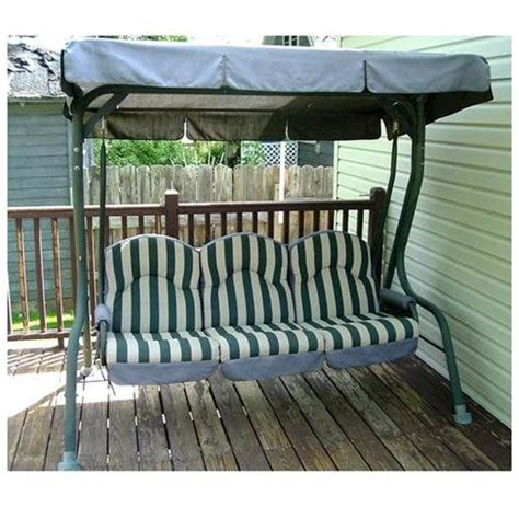 walmart patio swing walmart royal deluxe rus4116 replacement swing canopy