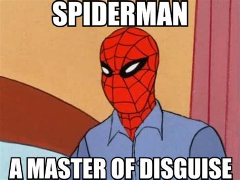 Spiderman Cartoon Meme - spiderman oracle of history