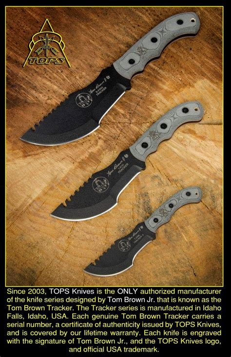 tom brown tracker 1 tops knives tom brown tracker 2 fixed 3 1 2 quot 1095 carbon