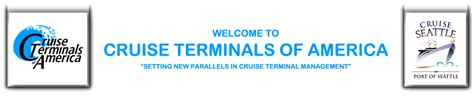 Seattle Cruise Port Car Rental by Car Rental Information Cruise Terminals Of America