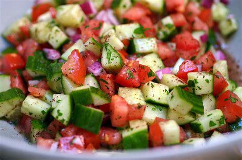 israeli salad i used to live on this salad practically b flickr