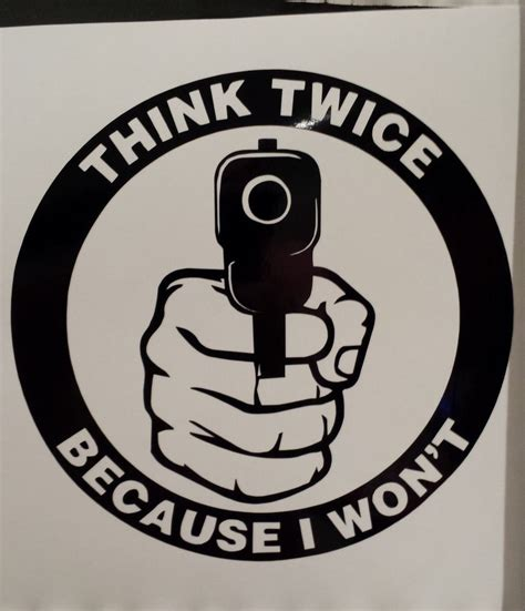 Gun Stickers For Cars