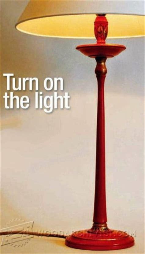 prairie table lamp plans woodarchivist