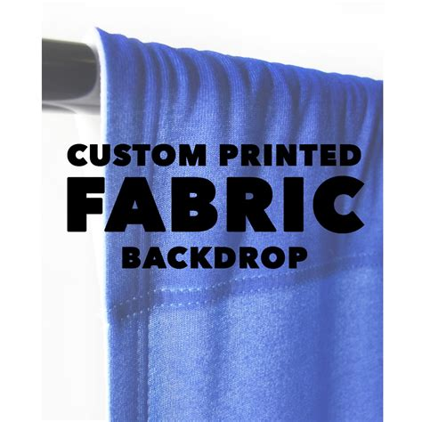 custom printed upholstery fabric custom printed fabric backdrop backdrop express