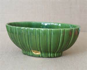 mid century haeger royal pottery planter bowl