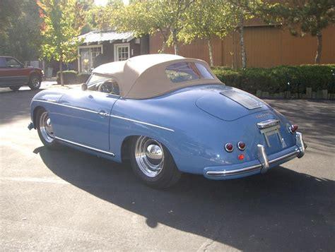 convertible porsche 356 1956 porsche 356a speedster convertible 20315