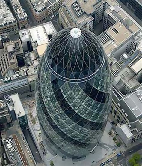londons magnificent  st mary axe  decorative