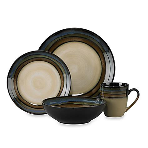 bed bath and beyond dinnerware pfaltzgraff 174 galaxy 16 piece dinnerware set bed bath