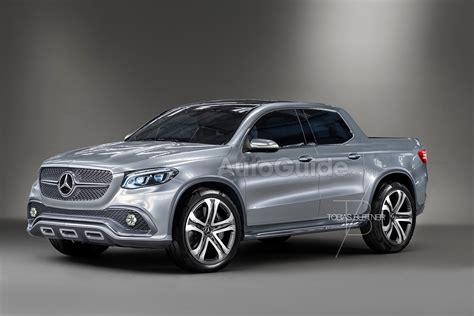 mercedes pickup truck here s what the mercedes benz glt pickup truck could look