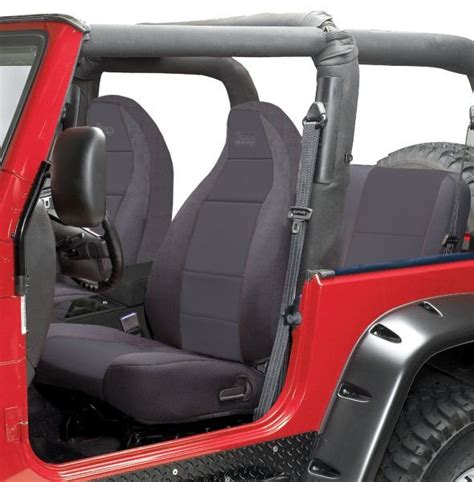 Reclining Rear Seat Jeep Wrangler by Coverking Front Seat Covers With Jeep 174 Logo With Rear
