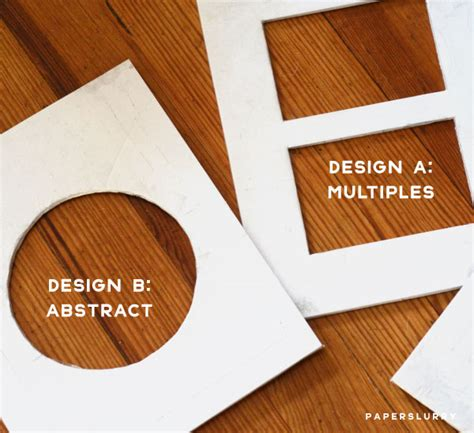Deckenle Design by Shaped Handmade Paper How To Make A Custom Deckle