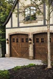 carriage style garage doors for country