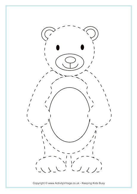 bear tracing
