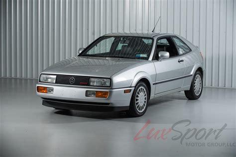 volkswagen corrado 1990 volkswagen corrado g60 coupe