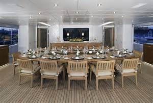 Large Dining Room Tables For Sale expensive news yacht of the week this sick mega yacht