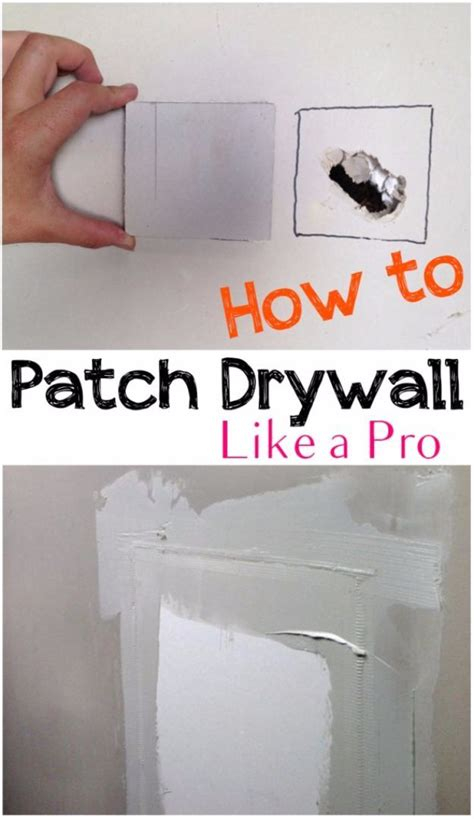 diy home improvement on a budget patch drywall like a