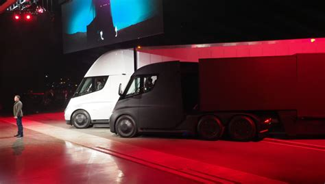 tesla electric truck this is tesla s big all electric truck the tesla