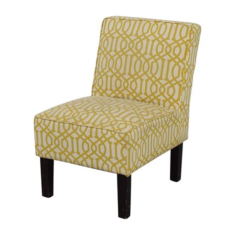 white accent chair 85 yellow and white accent chair chairs