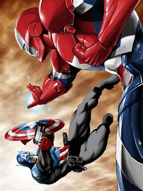 Captain America Patriot by Captain America Bucky Vs Iron Patriot Osborn Battles