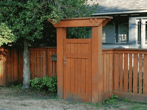 Wood Arbor With Gate Plans
