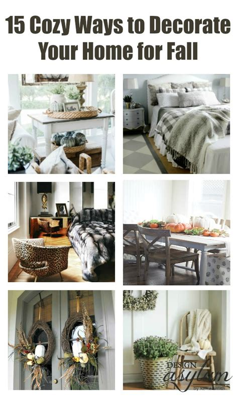 decorating your home for fall 15 cozy ways to decorate your home for fall design