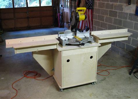 miter saw table plans pdf pdf compound miter saw stand diy diy free plans