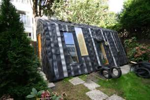Car Tyres In Garden Maisongomme A Funky Garden Office And Shed Made From