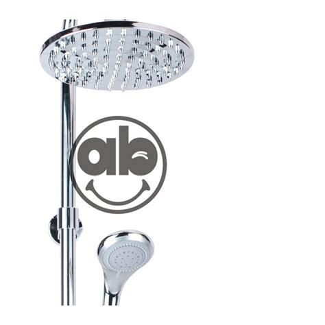 saliscendi doccia con soffione e doccetta set colonna colonnina doccia soffione fisso e doccetta con