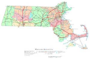 road map massachusetts usa large detailed administrative map of massachusetts state with roads highways and cities