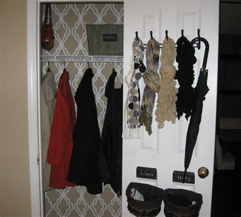 how to organize coat closet home decor and organizing link 18 organize and