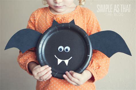 Bat Paper Plate Craft - 15 crafts is this really my is