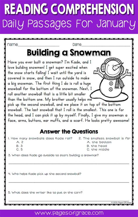 reading comprehension test narrative 778 best images about worksheets on pinterest
