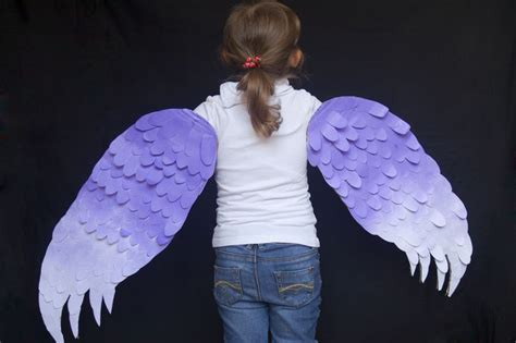 How To Make Bird Wings Out Of Paper - how to make wings for a bird costume