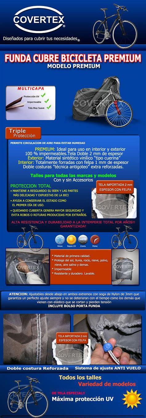 fundas y accesorios covertex covertex funda cubre bicicleta premium cvx bike cover