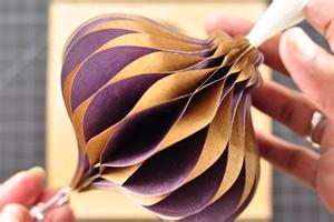 honeycomb ornament tutorial 187 amazing paper grace