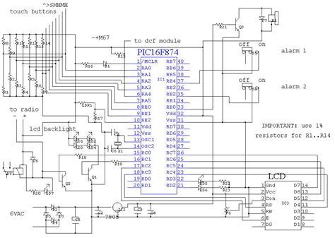 clock circuit diagram gt circuits gt radio alarm clock l20361 next gr