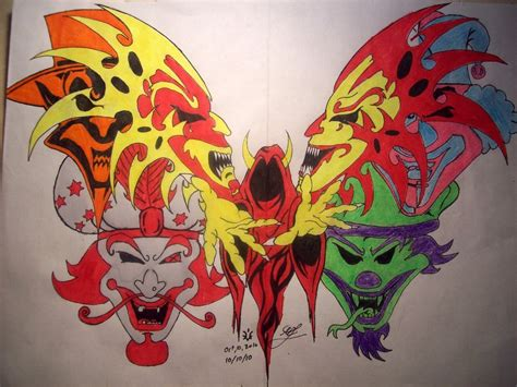 juggalo butterfly by darkrein82 on deviantart